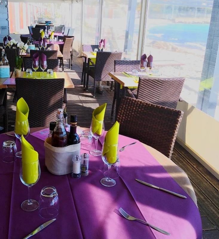 Restaurant - Da Mitchou - Restaurant Plage Menton